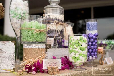 Allie Allure Candy Bar Buffet