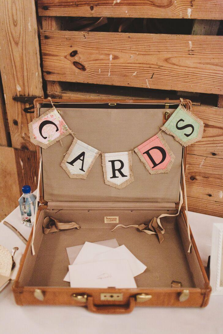 Vintage Card Box Suitcase