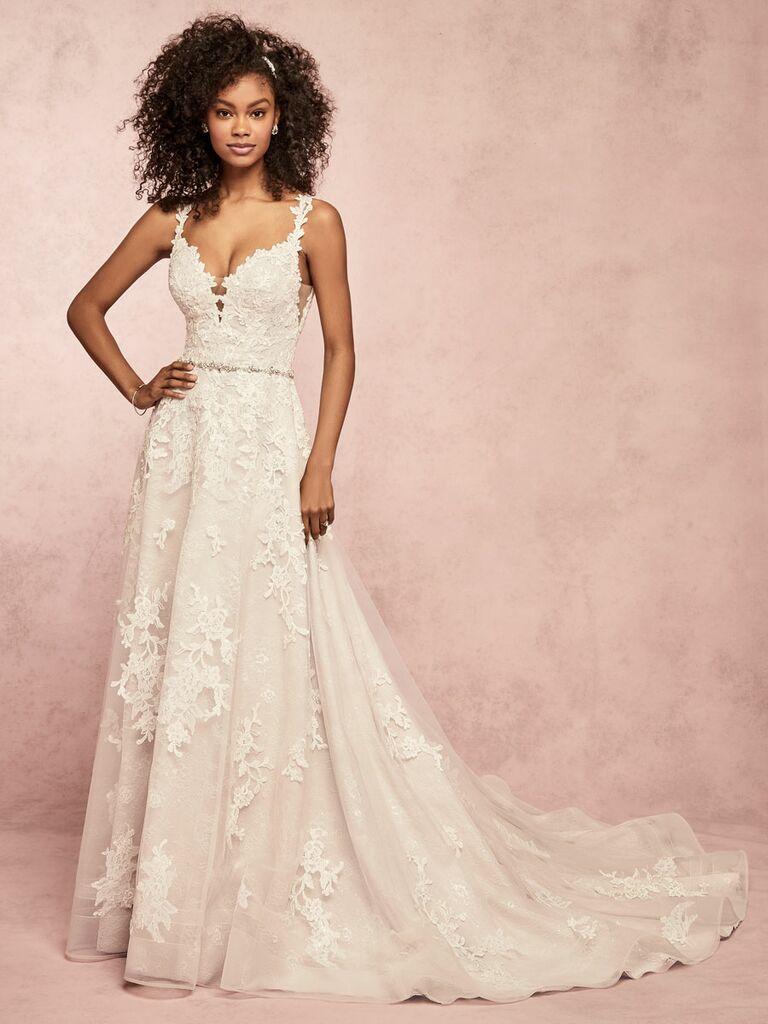Rebecca Ingram Spring 2019 lace wedding dress