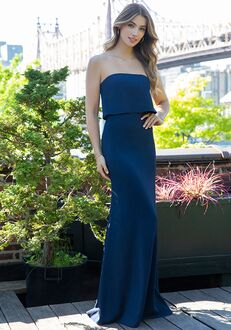 Hayley Paige Occasions 5860 Strapless Bridesmaid Dress