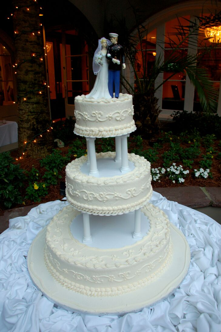 Marine Corps Wedding Cake Topper