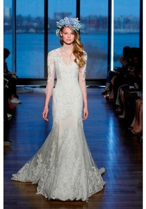 Ines Di Santo Silvine Mermaid Wedding Dress