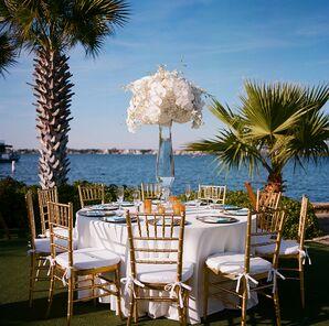 Nautical Waterfront Dining Table at Horseshoe Bay, Texas