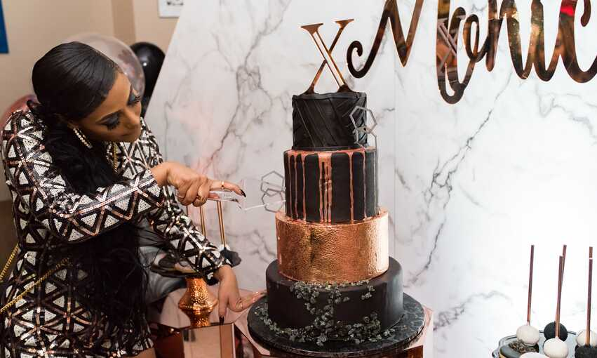 Ageless Black Tie Birthday party themed inspiration and ideas