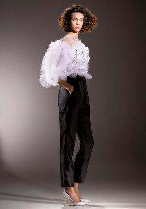 Viktor&Rolf Mariage IMMACULATE TULLE TOP Sheath Wedding Dress