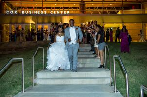 Wedding reception venues in tulsa ok the knot cox business center tulsa junglespirit Image collections