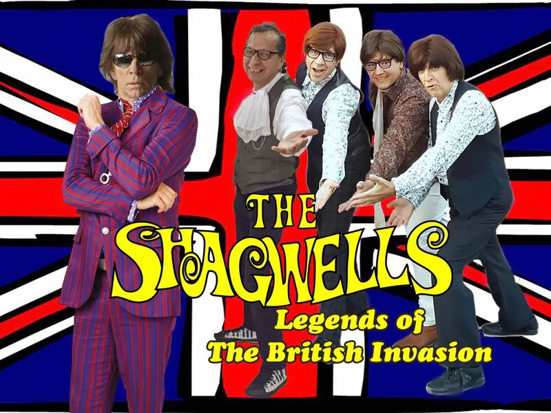 The Shagwells, Legends of The British Invasion - 60s Band - Los Angeles, CA
