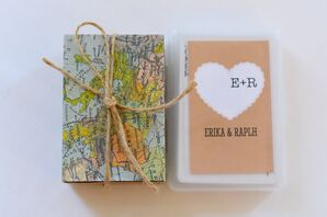 Personalized Playing Card Wedding Favors