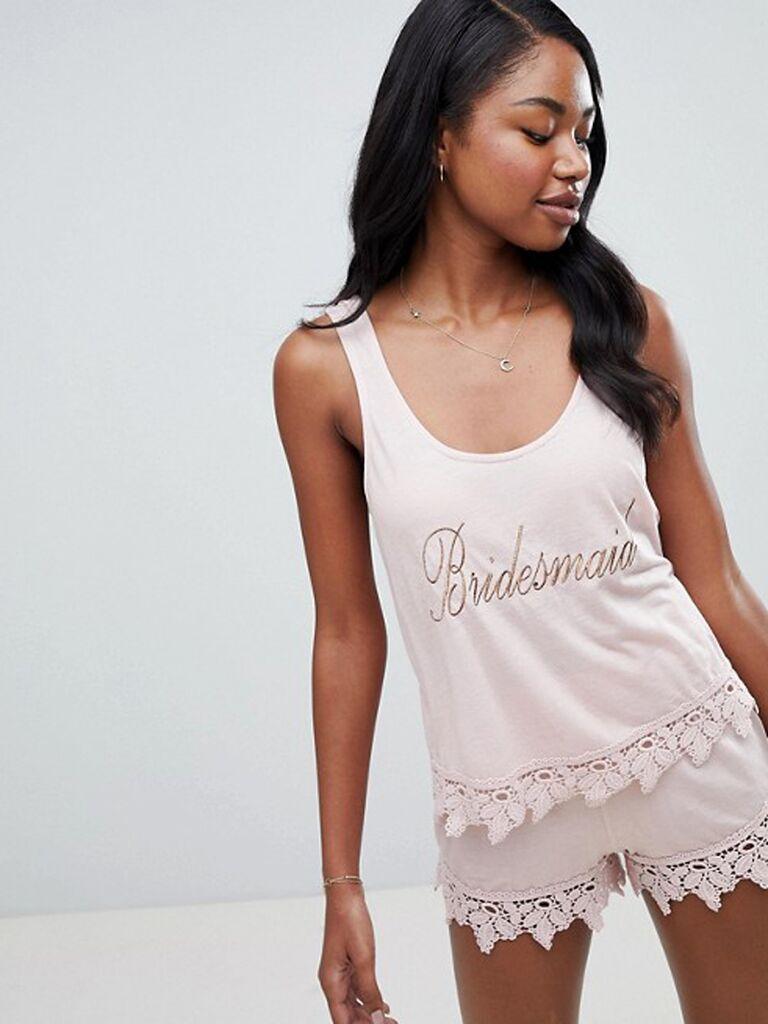 bridesmaid pajama
