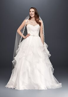 David's Bridal David's Bridal Collection Style WG3830 Ball Gown Wedding Dress