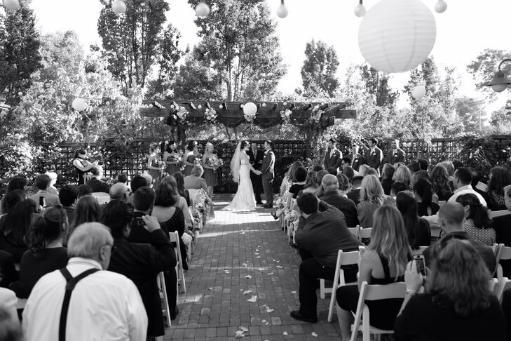 Couple at Altar of Wedding Ceremony