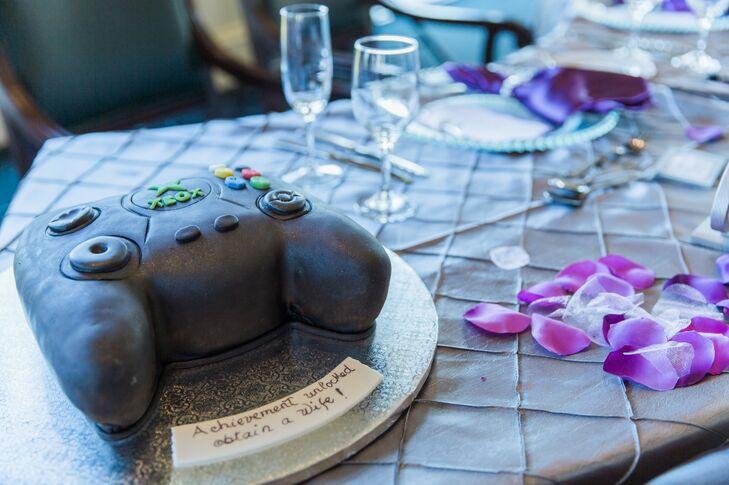 Black Xbox Controller Groom's Cake