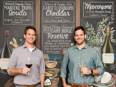 """Michael and Charlie Kalish of Food Network's """"The Big Cheese"""""""