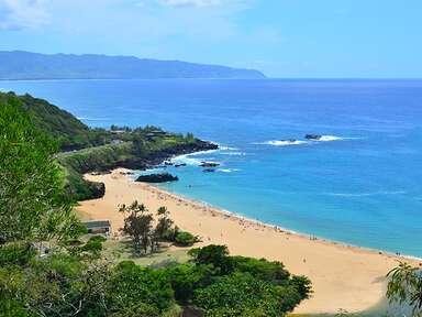Waimea Bay Beach Park, Oahu