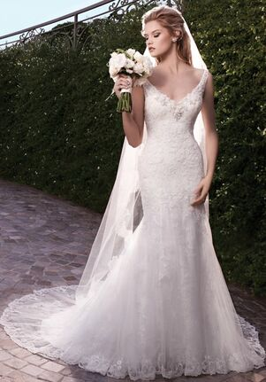 Casablanca Bridal 2135 Mermaid Wedding Dress