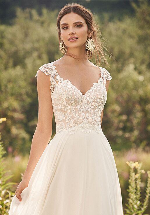 Lillian West 66132 A-Line Wedding Dress