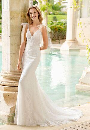 Rosa Clará Soft Rafit Mermaid Wedding Dress