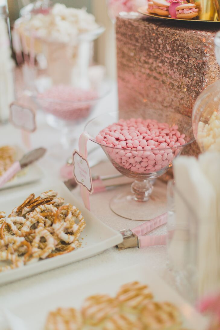 Playful Pink Candy Buffet