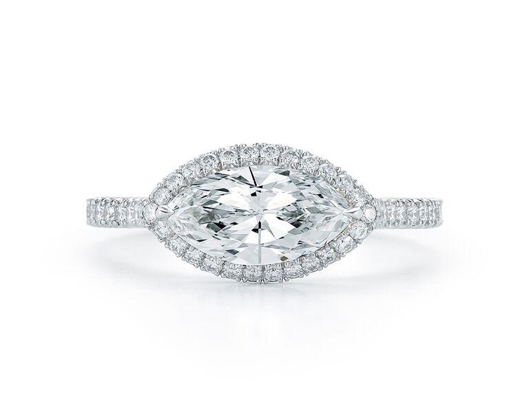 fancy cut diamond engagement rings