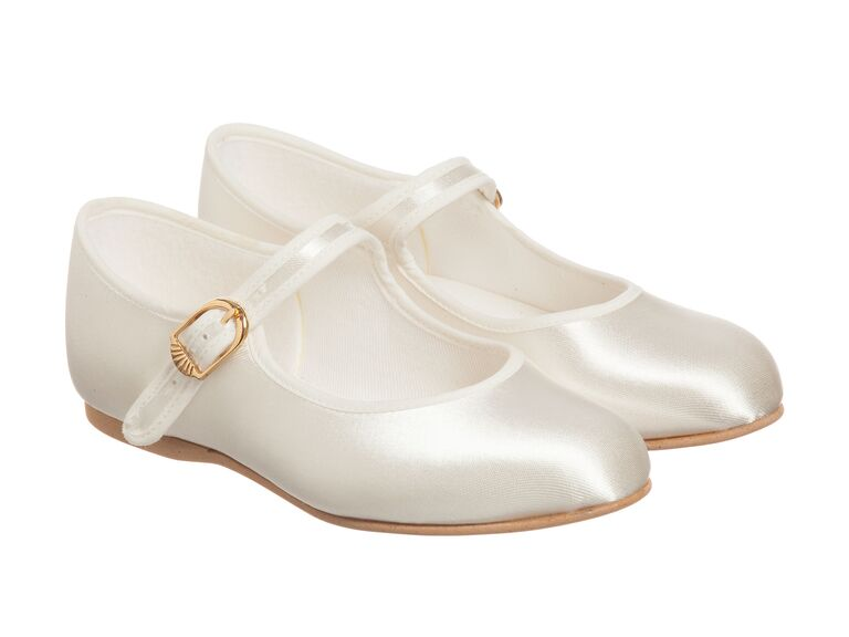 2210fe75f58c7 30 Flower Girls Shoes That'll Put Extra Pep in Her Step