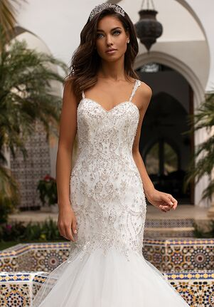 Moonlight Couture H1402 Mermaid Wedding Dress