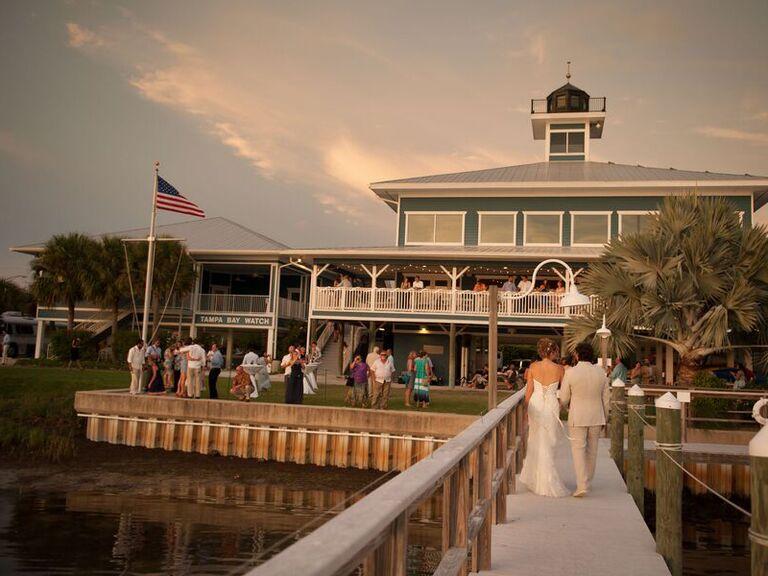 Wedding venue in Tierra Verde, Florida.