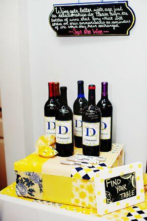Future Anniversary Wine Bottles