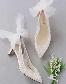 Bella Belle ESTHER Ivory Shoe