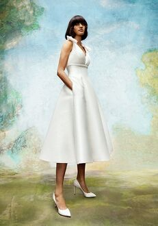 Viktor&Rolf Mariage BOW DETAIL TEA LENGTH A-Line Wedding Dress