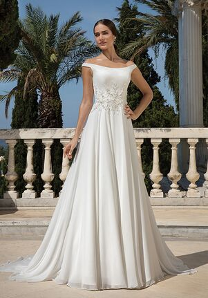 86f75a4e14 Justin Alexander 88092 A-Line Wedding Dress