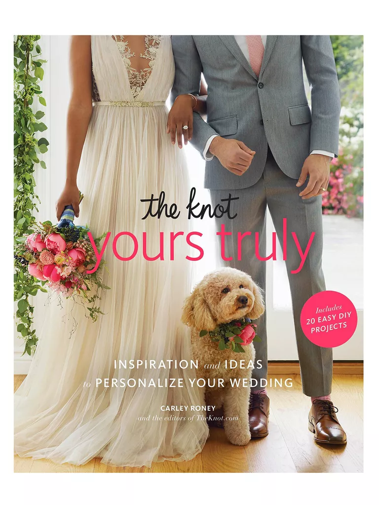 the knot personalize your wedding book