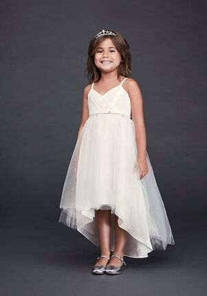 David's Bridal Flower Girl David's Bridal Style OP252 Ivory Flower Girl Dress