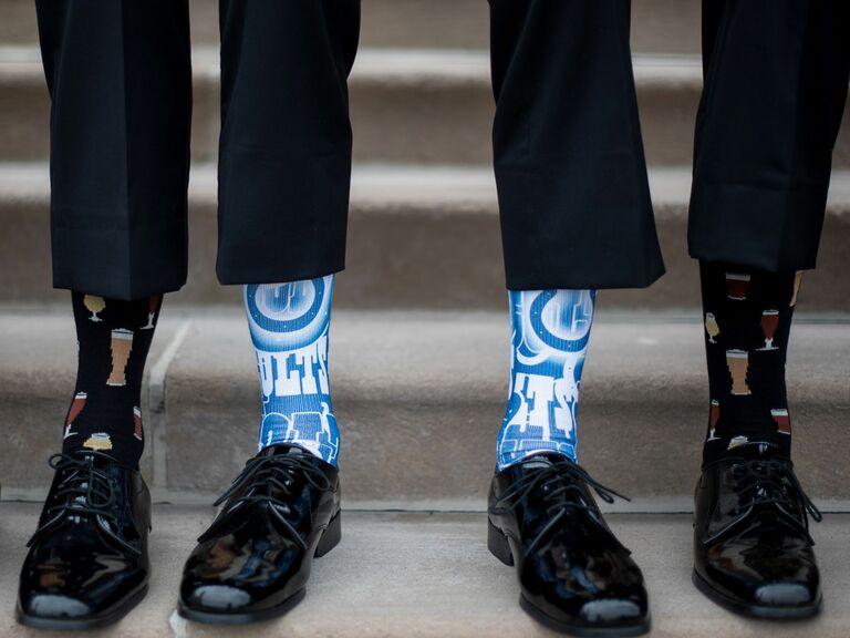 Indiana decorative socks