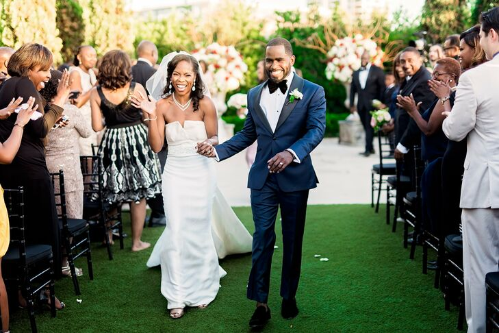 Outdoor Recessional at Hermann Park in Houston, Texas