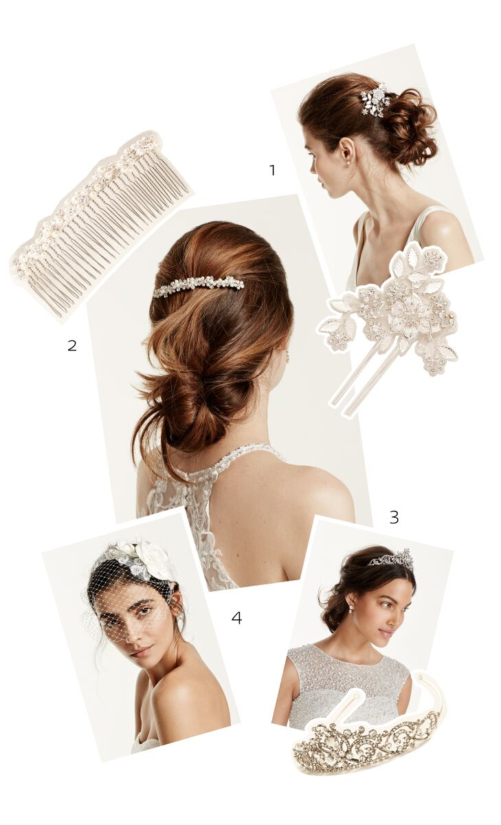 The Best Accessories For Your Wedding Hairstyle