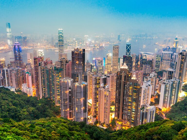 Hong Kong China honeymoon destination