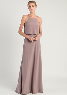 Jenny Yoo Collection (Maids) Elle Halter Bridesmaid Dress