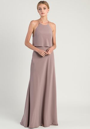 Jenny Yoo Collection (Maids) Elle Halter Bridesmaid Dress