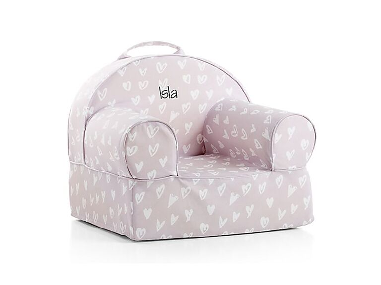 Heart chair flower girl gift