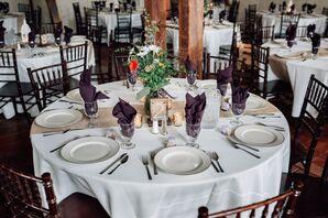 Boones Dam Barn Reception Table