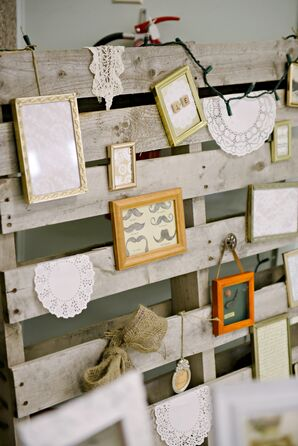 Vintage-Inspired Palette Gallery Wall