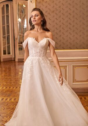 Moonlight Collection J6821 A-Line Wedding Dress