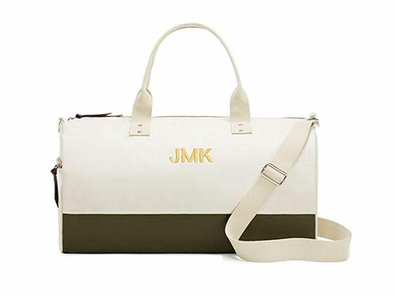 custom weekend bag