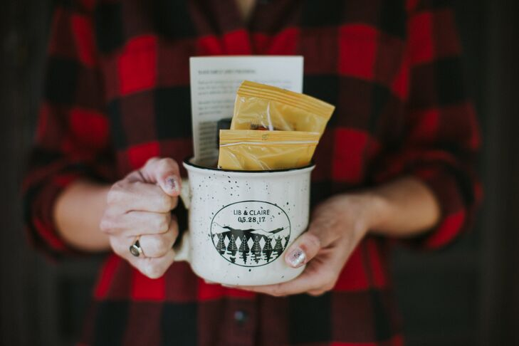 Custom Camping Mug Favors