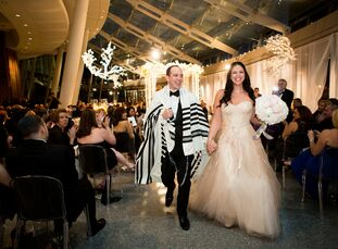 The Bride Lauren Riese, 29, a graduate student at Fordham University The Groom Jed Garfunkel, 35, an attorney The Date June 9   Lauren and Jed decided