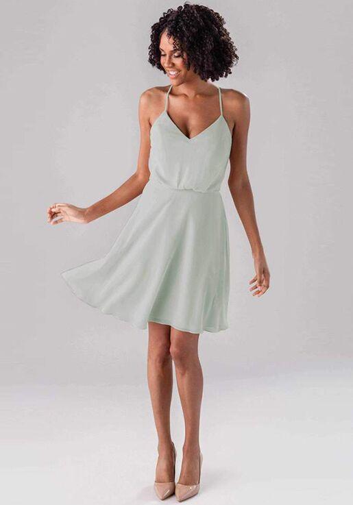 Kennedy Blue Rachel V-Neck Bridesmaid Dress