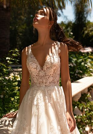 Moonlight Couture H1432 A-Line Wedding Dress
