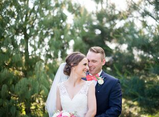 For Renee Mercier (28 and a social worker) and Nathan Day (28 and an entrepreneur), their wedding style mixed their favorite thi