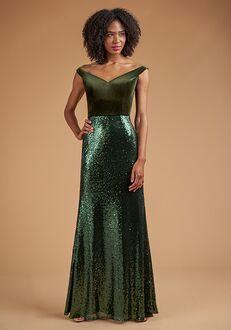 B2 Bridesmaids by Jasmine B223062 Off the Shoulder Bridesmaid Dress