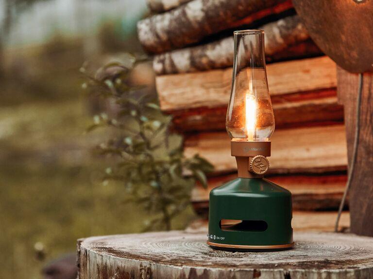 camping lantern with bluetooth speaker
